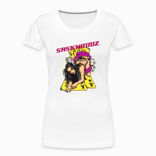 saskhoodz girl - Women's Premium Organic T-Shirt