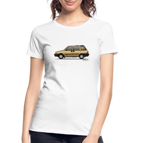 Nissan Stanza 4wd Multi Wagon Datsun Prairie Gold - Women's Premium Organic T-Shirt