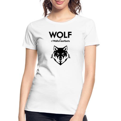 Wolf of Wallstreetbets - Women's Premium Organic T-Shirt