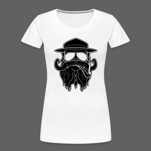 OldSchoolBiker - Women's Premium Organic T-Shirt