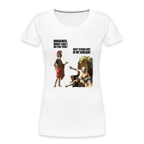 hlalexander and diogene2 black - Women's Premium Organic T-Shirt