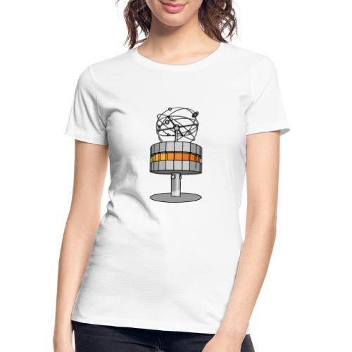 World time clock Berlin - Women's Premium Organic T-Shirt