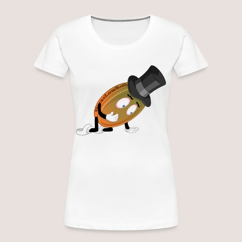 THE SICK PENNY - Women's Premium Organic T-Shirt