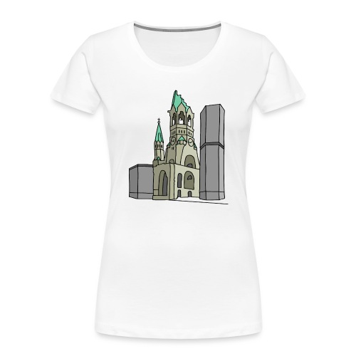 Memorial Church Berlin - Women's Premium Organic T-Shirt