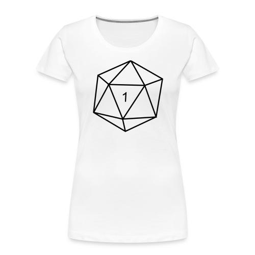 d20 - 1 - Women's Premium Organic T-Shirt