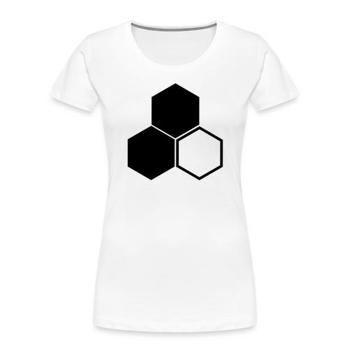 F3 Invisible Woman Logo - Women's Premium Organic T-Shirt