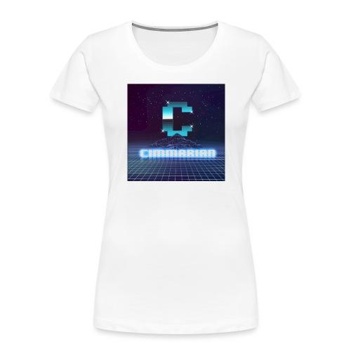 The killer 80s logo - Women's Premium Organic T-Shirt