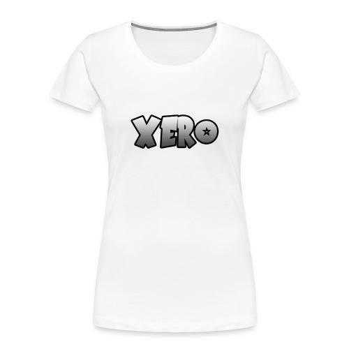 Xero (No Character) - Women's Premium Organic T-Shirt