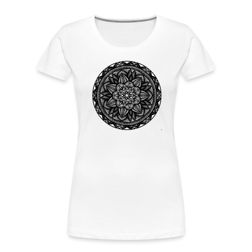 Circle No.2 - Women's Premium Organic T-Shirt