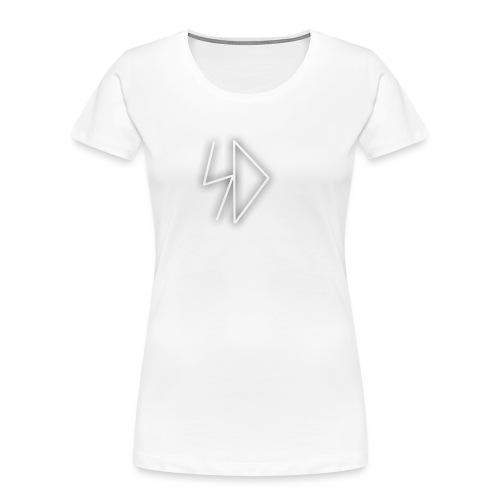 Sid logo white - Women's Premium Organic T-Shirt