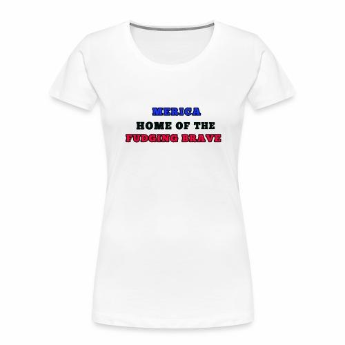 MERICA - Women's Premium Organic T-Shirt
