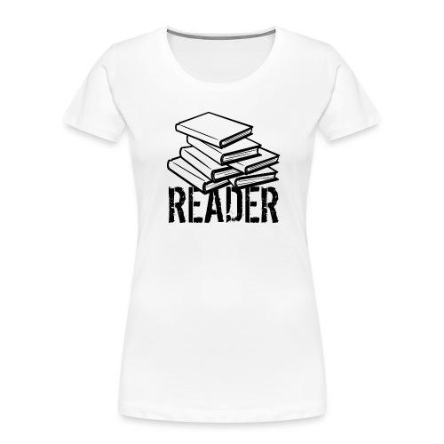 reader - Women's Premium Organic T-Shirt