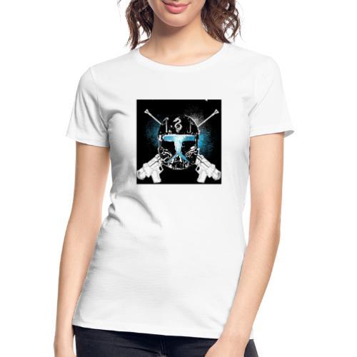 masked guns - Women's Premium Organic T-Shirt