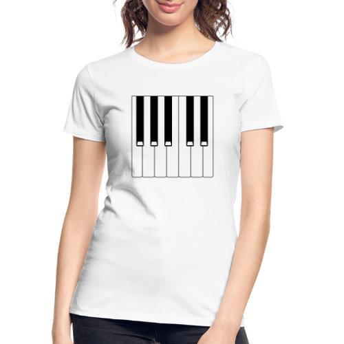 Piano - Women's Premium Organic T-Shirt