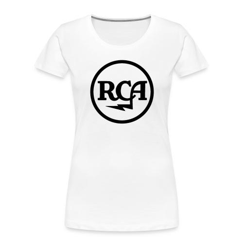 RCA radio - Women's Premium Organic T-Shirt