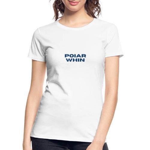 PoIarwhin Updated - Women's Premium Organic T-Shirt