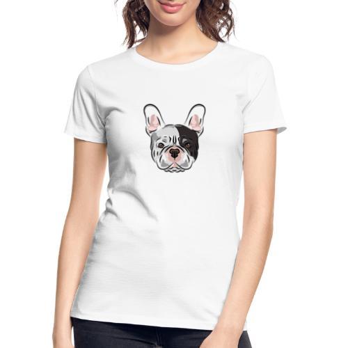 pngtree french bulldog dog cute pet - Women's Premium Organic T-Shirt