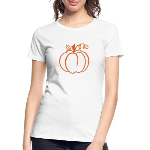 Pumpkin - Women's Premium Organic T-Shirt