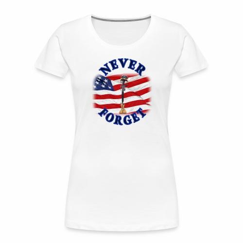 Never Forget - Women's Premium Organic T-Shirt
