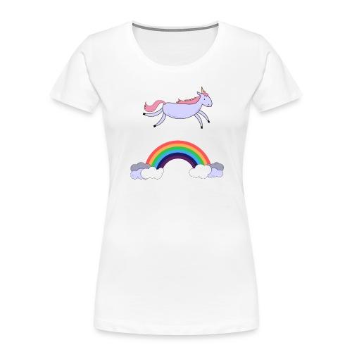 Flying Unicorn - Women's Premium Organic T-Shirt