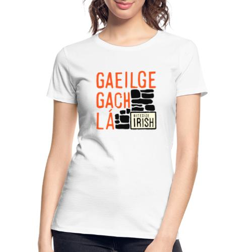 Bitesize Irish Merchandise - Women's Premium Organic T-Shirt