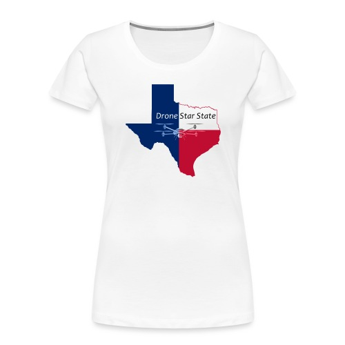 Drone Star State - Women's Premium Organic T-Shirt