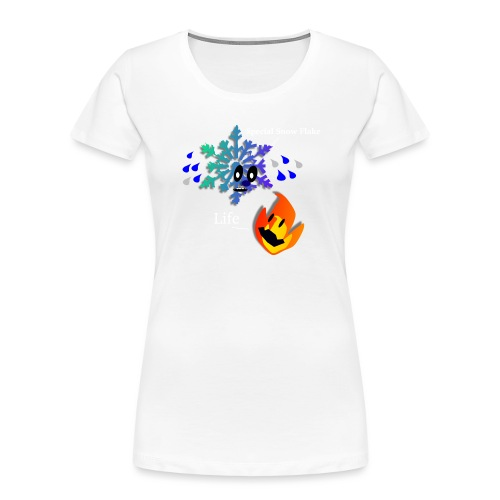 Special Little Snowflake - Women's Premium Organic T-Shirt