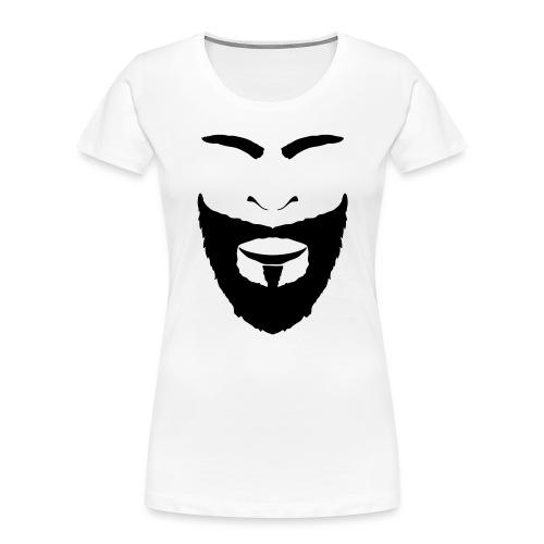 FACES_BEARD - Women's Premium Organic T-Shirt