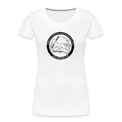 Esfinges White - Women's Premium Organic T-Shirt