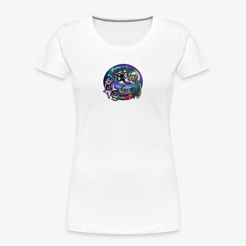 Mother CreepyPasta Nursery Rhyme Circle Design - Women's Premium Organic T-Shirt