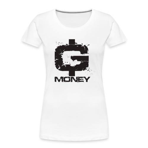 G money. - Women's Premium Organic T-Shirt