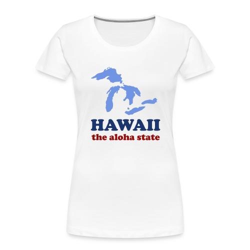 Geographically Impaired - Women's Premium Organic T-Shirt