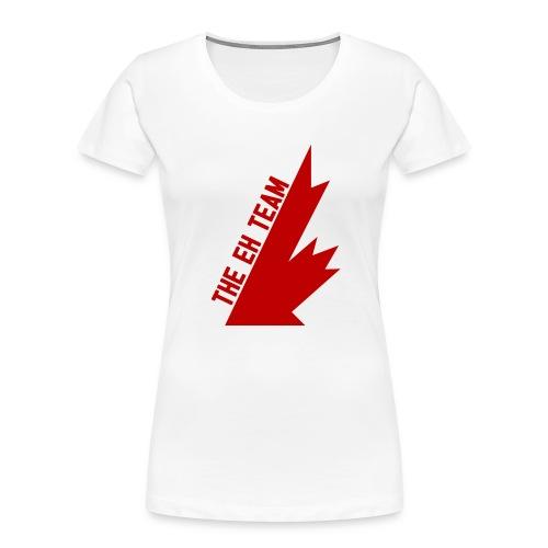 The Eh Team Red - Women's Premium Organic T-Shirt