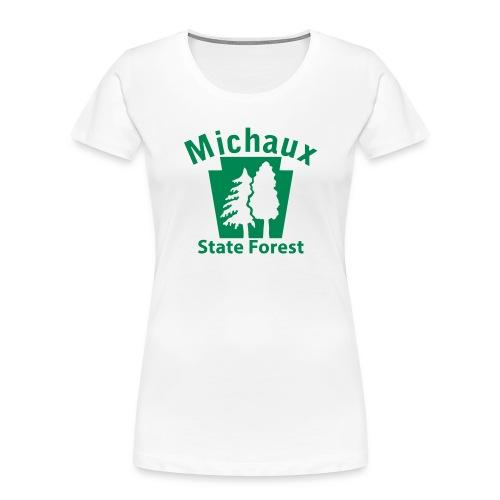 Michaux State Forest Keystone (w/trees) - Women's Premium Organic T-Shirt