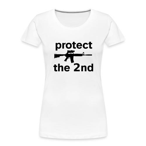 PROTECT THE 2ND - Women's Premium Organic T-Shirt