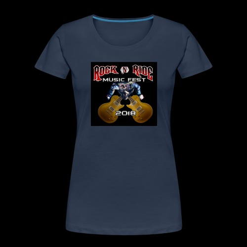 RocknRide Design - Women's Premium Organic T-Shirt