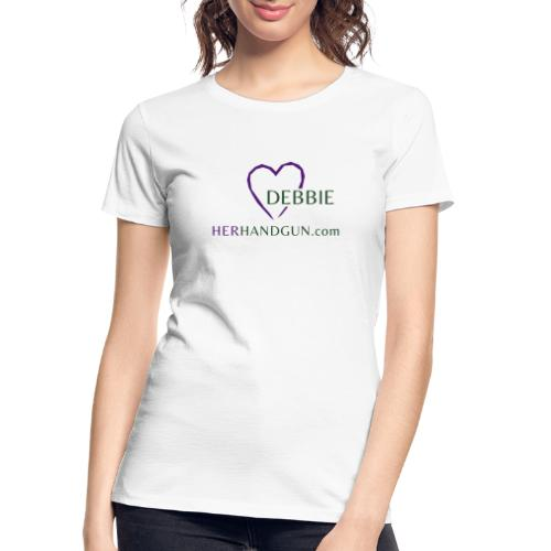 HerHandgun DEBBIE - Women's Premium Organic T-Shirt