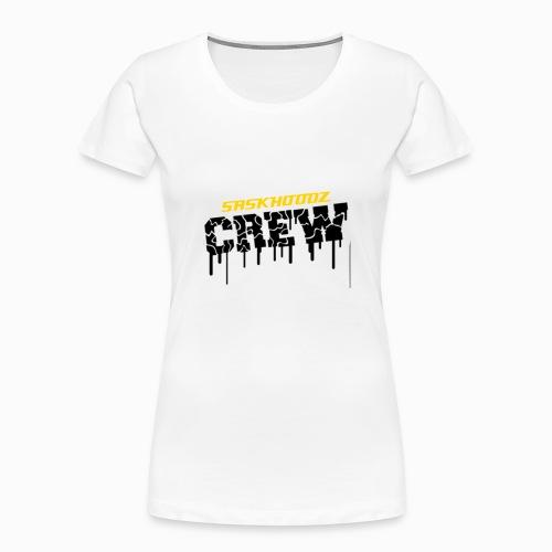 saskhoodz crew - Women's Premium Organic T-Shirt