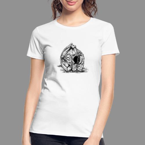 Wolfman Originals Black & White 14 - Women's Premium Organic T-Shirt