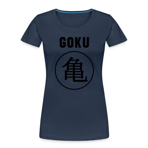 GOKU - TURTLE - Women's Premium Organic T-Shirt