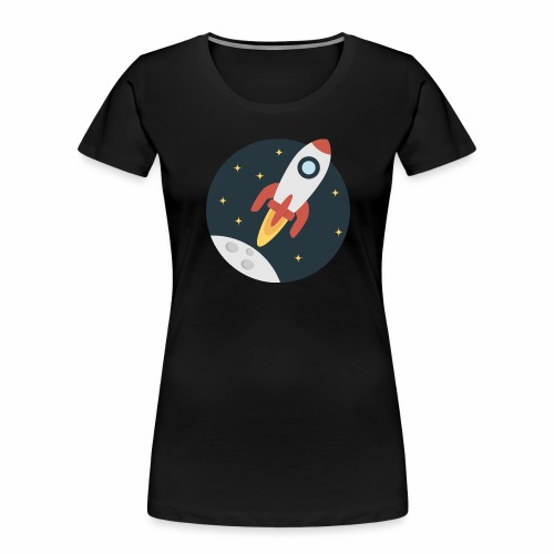 instant delivery icon - Women's Premium Organic T-Shirt