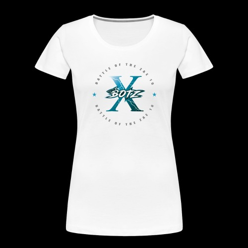 BOTZ X Circle Logo - Women's Premium Organic T-Shirt