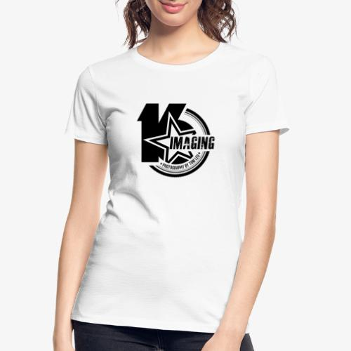 16IMAGING Badge Black - Women's Premium Organic T-Shirt