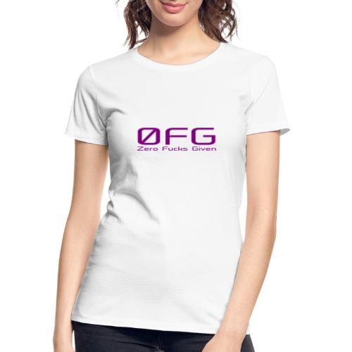 Zero F Given Uncensored - Women's Premium Organic T-Shirt
