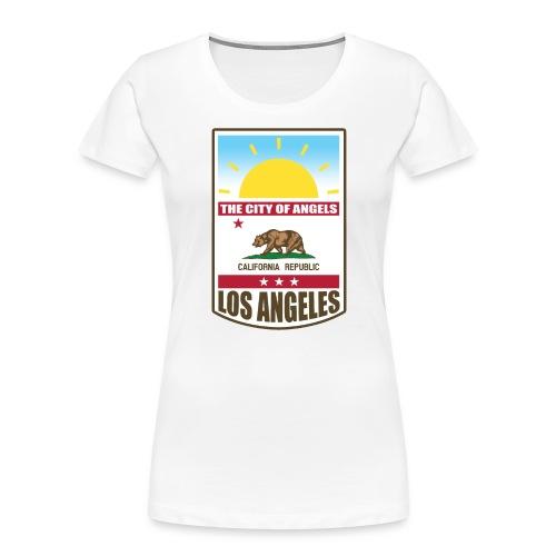 Los Angeles - California Republic - Women's Premium Organic T-Shirt