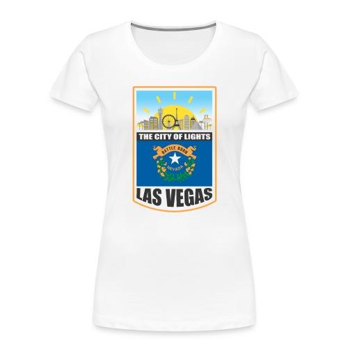 Las Vegas - Nevada - The city of light! - Women's Premium Organic T-Shirt