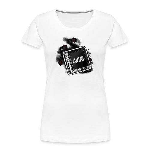 New CNTRL Logo - Women's Premium Organic T-Shirt