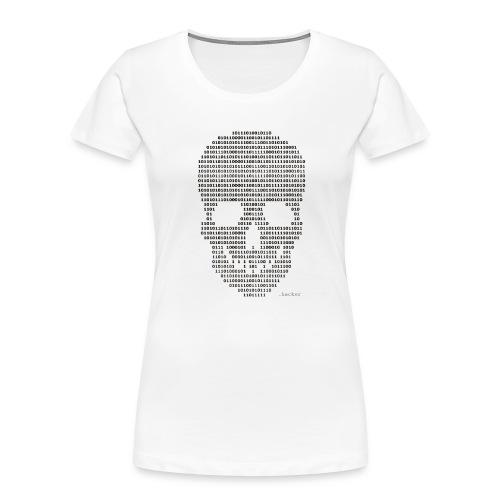 Hacker binary - Mens - Women's Premium Organic T-Shirt