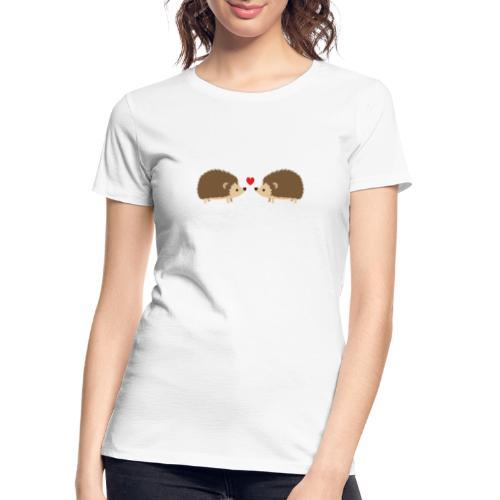 Hedgehog Lovers - Women's Premium Organic T-Shirt