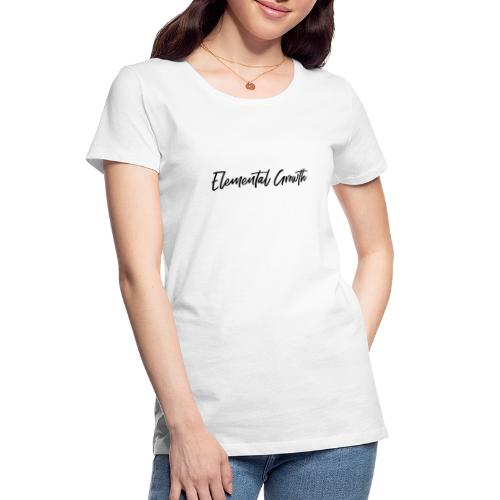 Elemental Growth - Women's Premium Organic T-Shirt